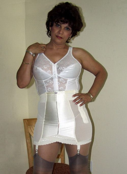 Milf in girdles