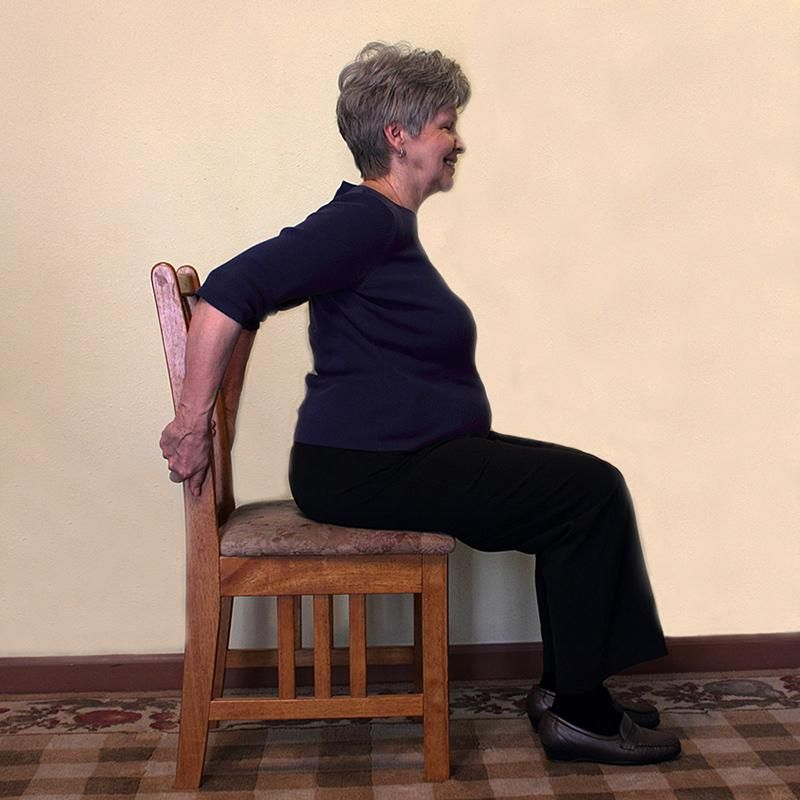 Senior Chair Exercise Pictures Lovetoknow Chair Exercises Exercise Tricep Stretch