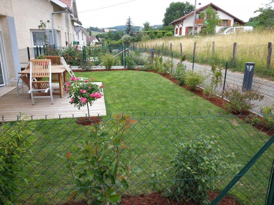 Idee Amenagement Rez De Jardin | Exterior Design | Garden ...