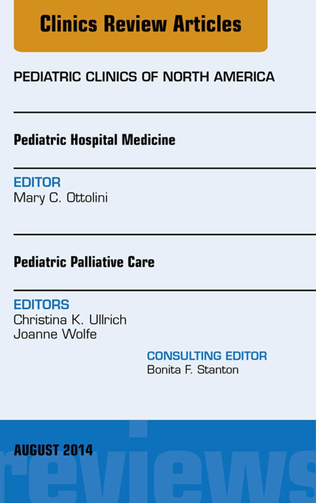 Pediatric Hospital Medicine and Pediatric Palliative Care