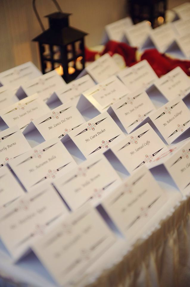 Seating Name Cards Casino Themed Wedding Casino Themes Wedding