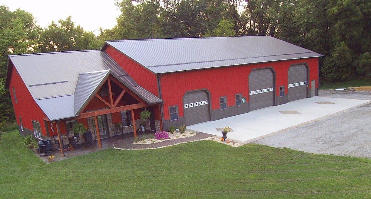 BuiltRite Buildings Living Quarters in 2020 Barn