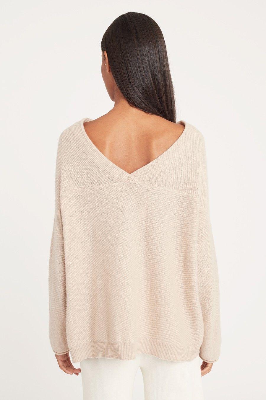 e7367925c5f Cashmere V-Back Sweater