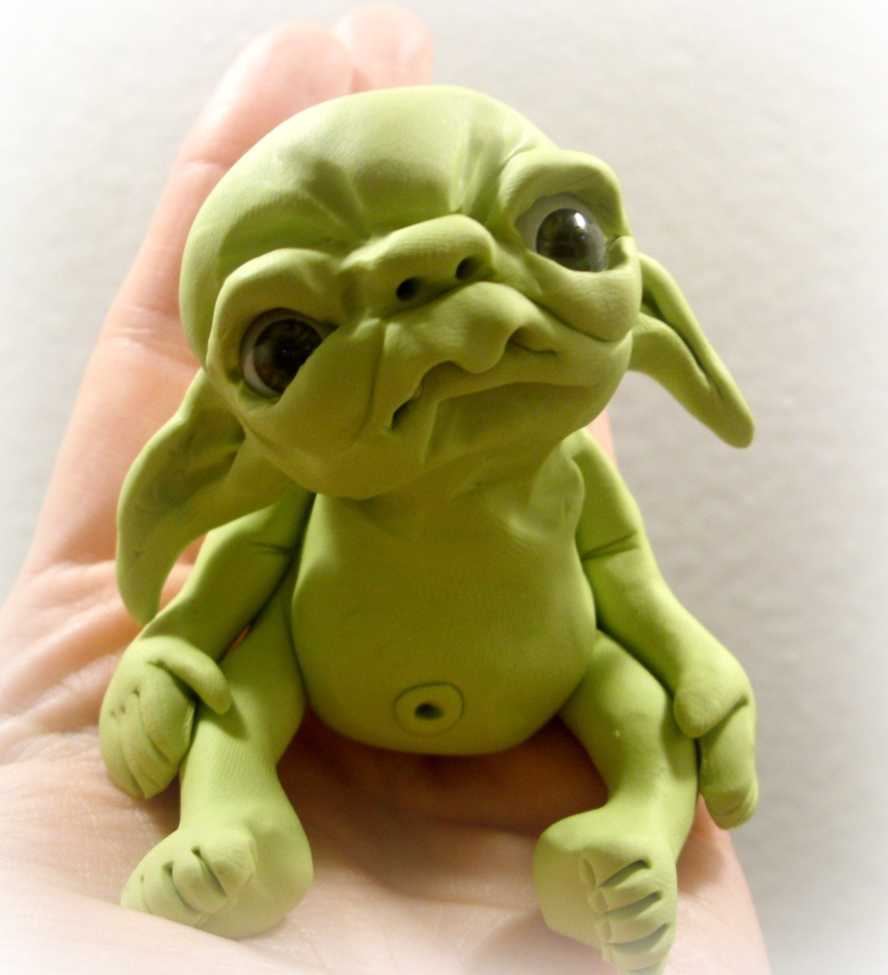 Alien Clay Cute Baby Polymer