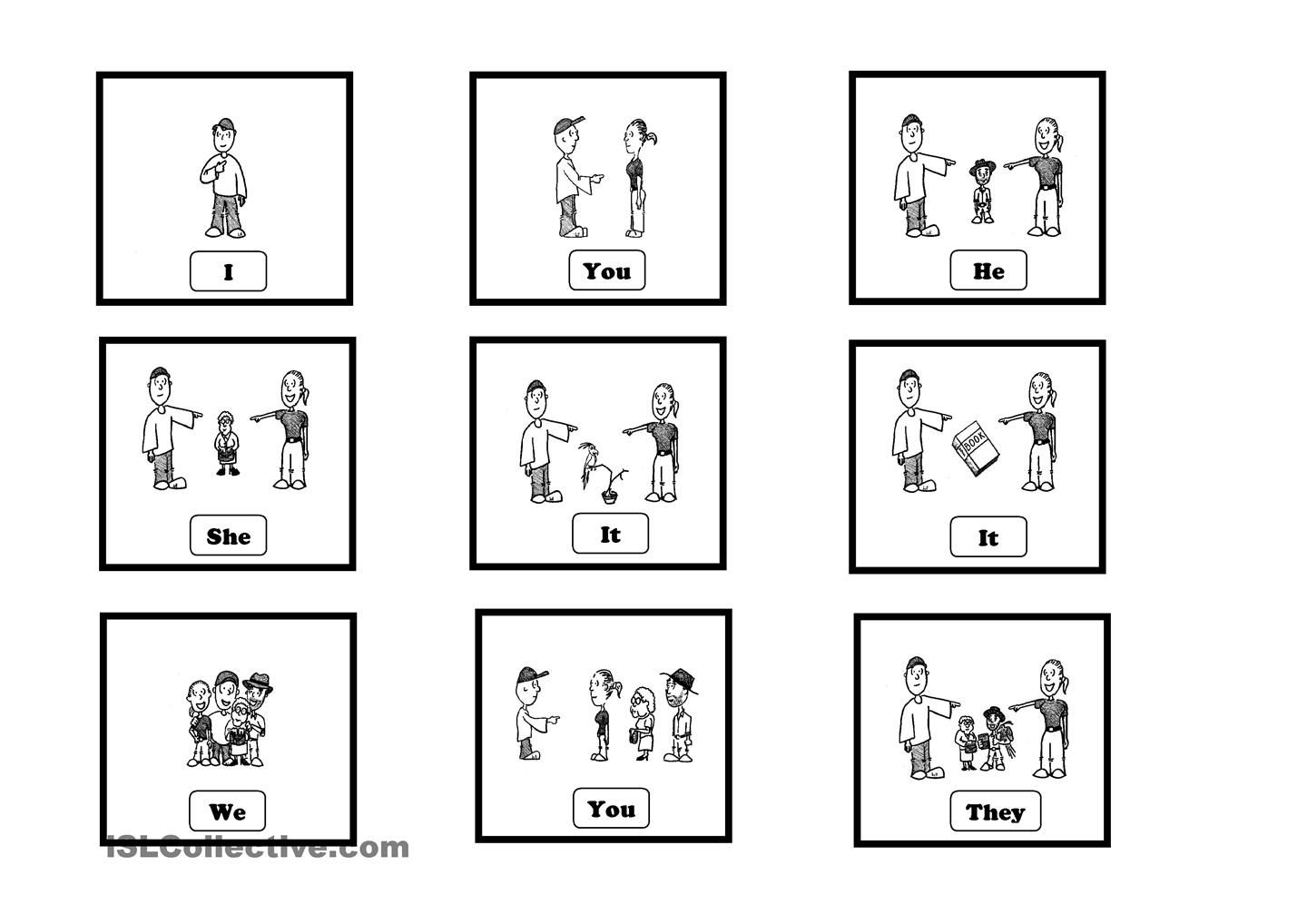 french subject pronouns worksheet pdf
