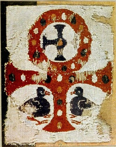 Textile History Test 2 Ancient Symbols Tapestry Weaving Christian Symbols