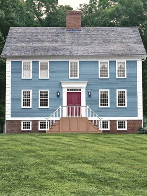 With Love And Care Colonial Exterior Colonial House House Exterior