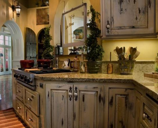 Distressed Kitchen Cabinets Pictures Options Tips & Ideas Pleasing Distressed Kitchen Cabinets 2018