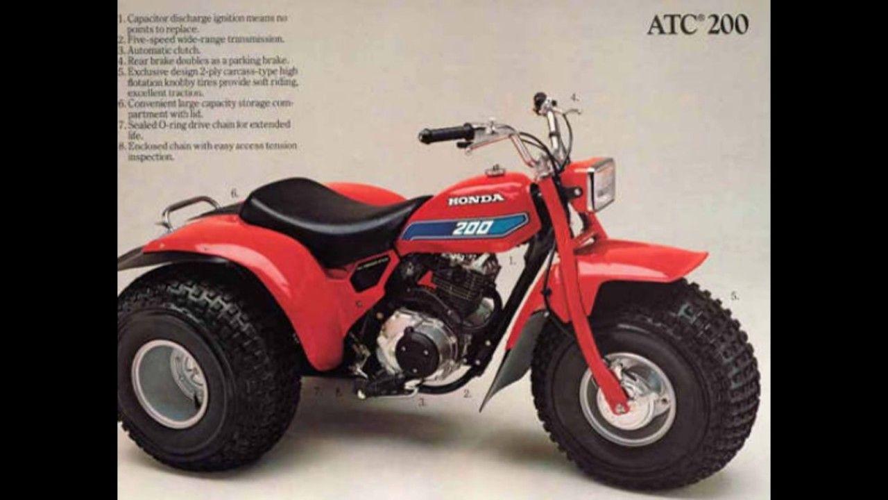 Honda ATC 200 Service Manual Honda