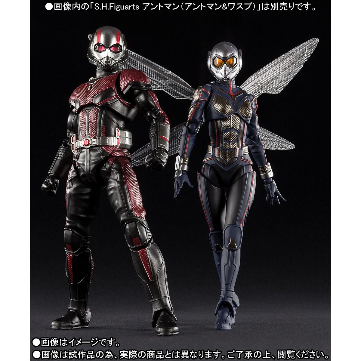 Bandai S.H.Figuarts Wasp Japan version Ant-Man and the Wasp