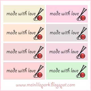 printable gift tags for knitters and knitting lovers – ausdruckbare Geschenkkärtchen / Etiketten – freebies   MeinLilaPark – digital freebies