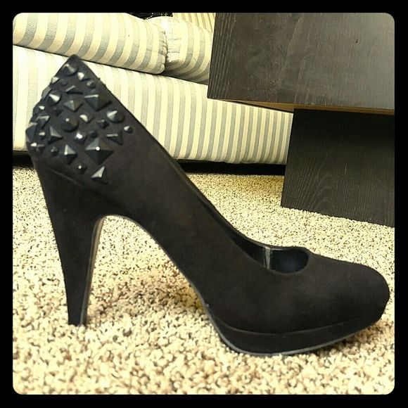 Studded black heels Black studded heels Call It Spring Shoes Heels