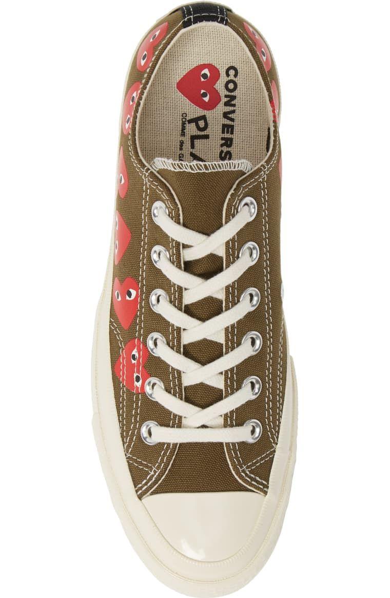Abandonar detalles Portavoz  Comme des Garçons PLAY x Converse Chuck Taylor® Low Top Sneaker (Men) |  Nordstrom in 2020 | Chuck taylors, Converse chuck taylor, Sneakers
