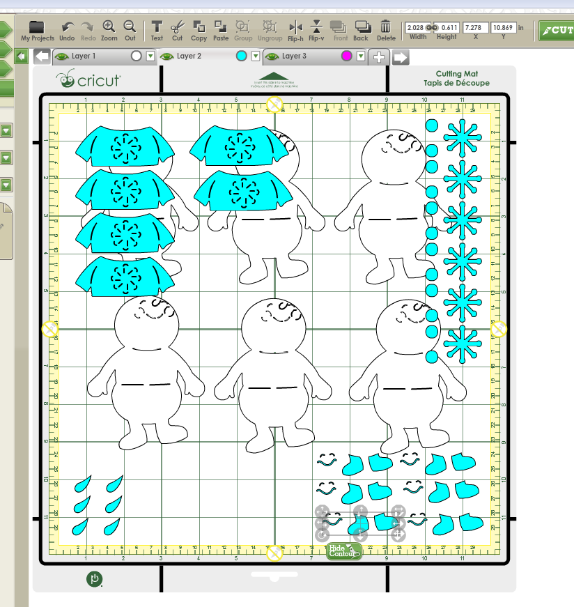 Cricut Craft Room Working With Layers Cricut Craft Room Cricut Crafts Cricut Tutorials