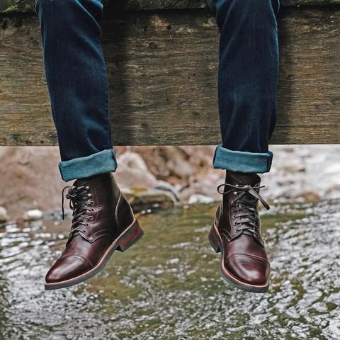 fc4a0818d7bf Cognac Suede President Boot