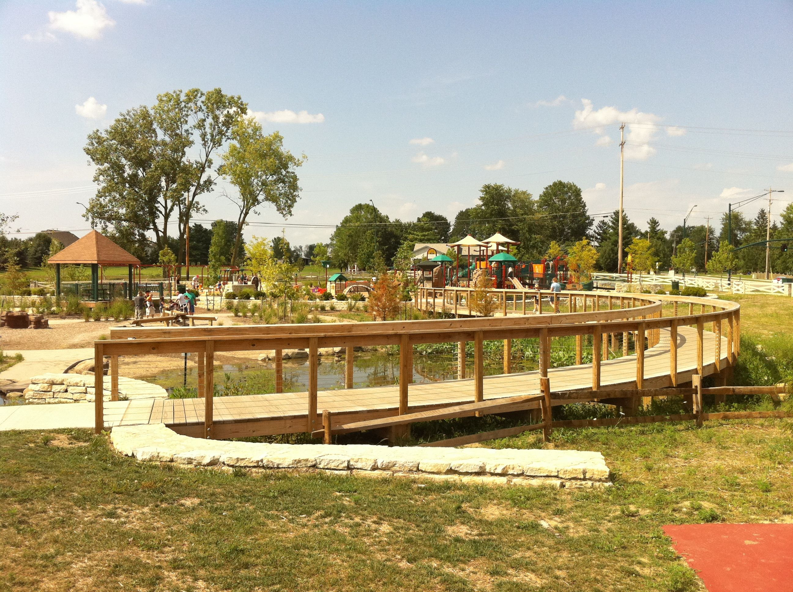 Millstone creek park westerville oh westerville ohio - Highland park swimming pool westerville oh ...