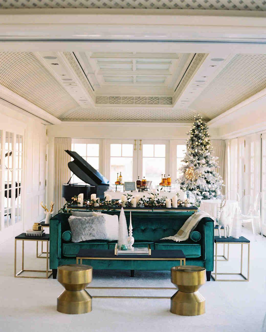 A Christmas-Themed Wedding in Washington, D.C. | Martha Stewart ...
