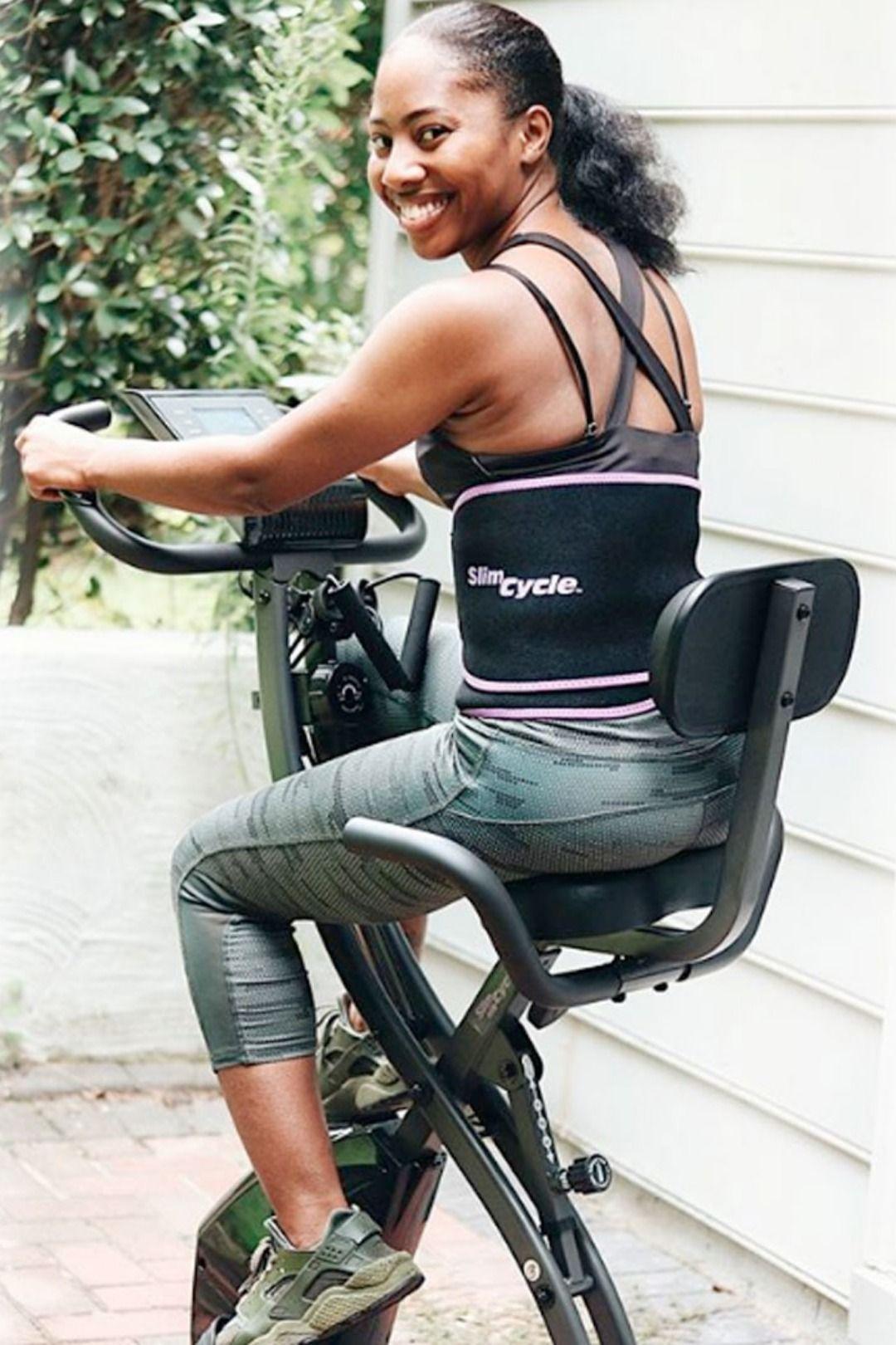 Deluxe slim cycle biking workout intense cardio workout