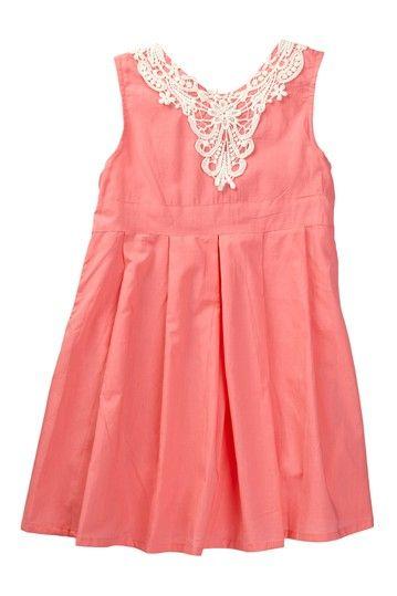 Lace Bib Dress (Toddler, Little Girls, & Big Girls) by Paulinie on @HauteLook