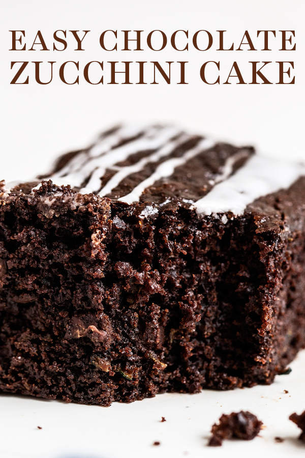 Ultra Rich Moist And Fudgy Easy Chocolate Zucchini Cake Is The Perfect Summer Chocolate Zucchini Cake Recipe Chocolate Zucchini Cake Zucchini Recipes Dessert