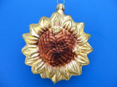 Details about CHICAGO MUNICIPAL HEART GERMAN BLOWN GLASS CHRISTMAS TREE ORNAMENT #sunflowerchristmastree