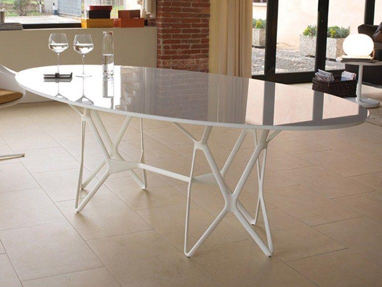 Tavolo Ovale Design : Tori tavolo ovale by estel group design patrick norguet tavoli