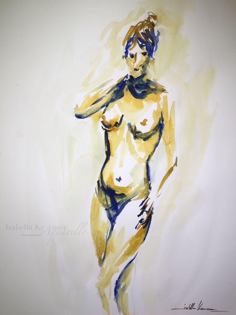 veredit - art©: nude painting female life model - 2