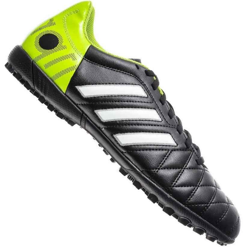 0f6beb3363 Chuteira Adidas 11Questra TRX TF Society Preta   Verde