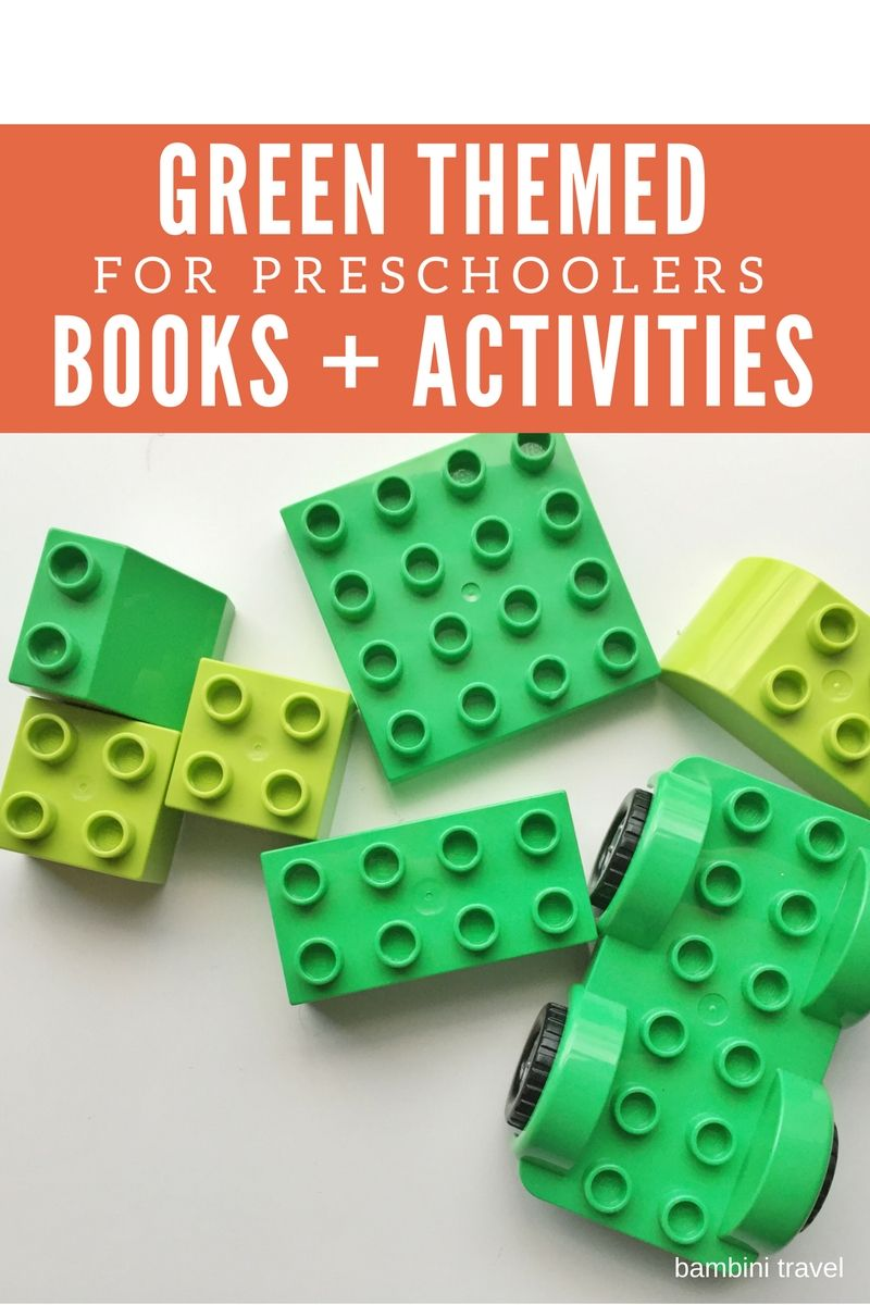 Creative Ideas for a Green Color Day with Preschoolers | Creative ...