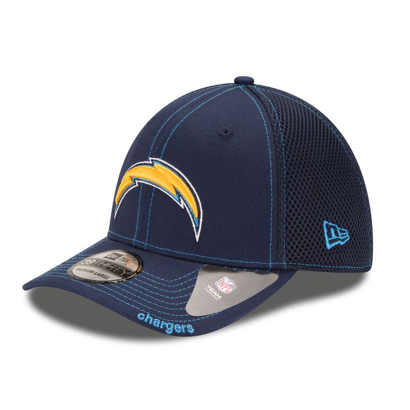 Los Angeles Chargers New Era Neo 39thirty Flex Hat Navy In 2020 Los Angeles Chargers Navy Hats Fitted Hats