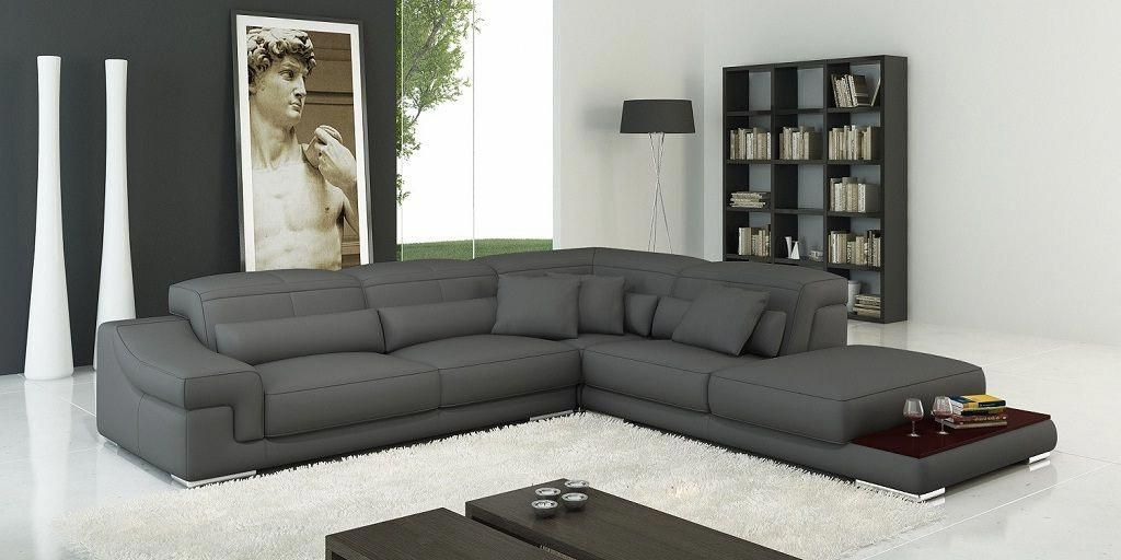 Slate Grey Leather Corner Sofa Leather Corner Sofa Grey Leather Corner Sofa Corner Sofa Design