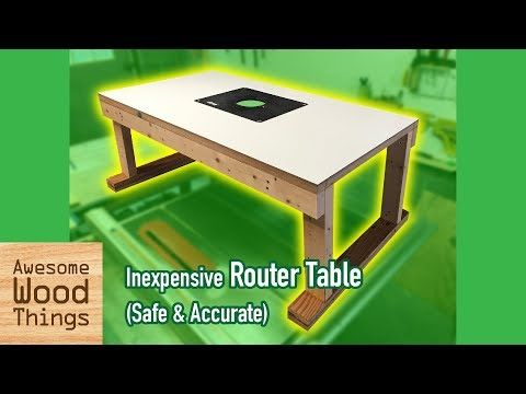 Inexpensive router table safe accurate diy youtube wood inexpensive router table safe accurate diy youtube keyboard keysfo Images