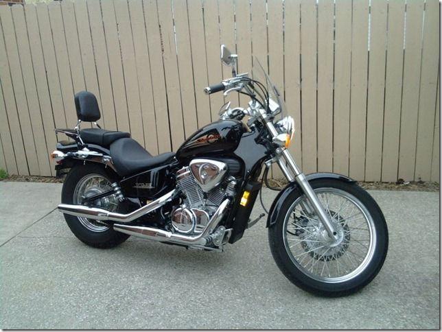 My First Bike 2002 Honda Shadow Vlx 600 Motorrad Autos