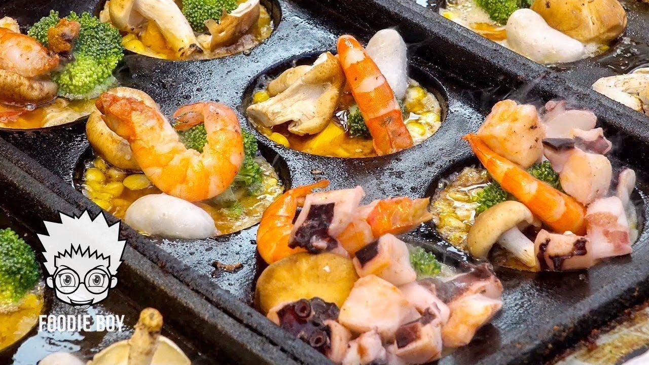 King takoyaki taiwanese street food ruifeng night