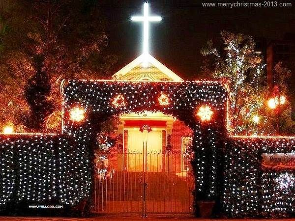 Outdoor Christmas Light Decoration Ideas Pinterest with Jesus Cross