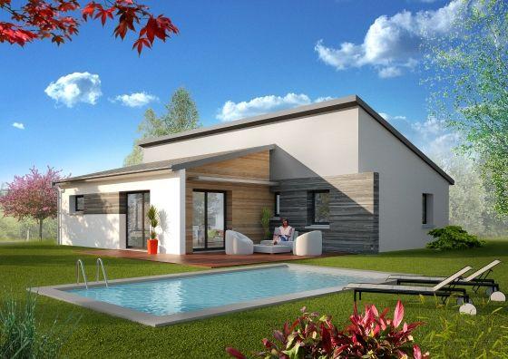 Léa Mortelier (lamortelier) on Pinterest - plan maison en forme de u