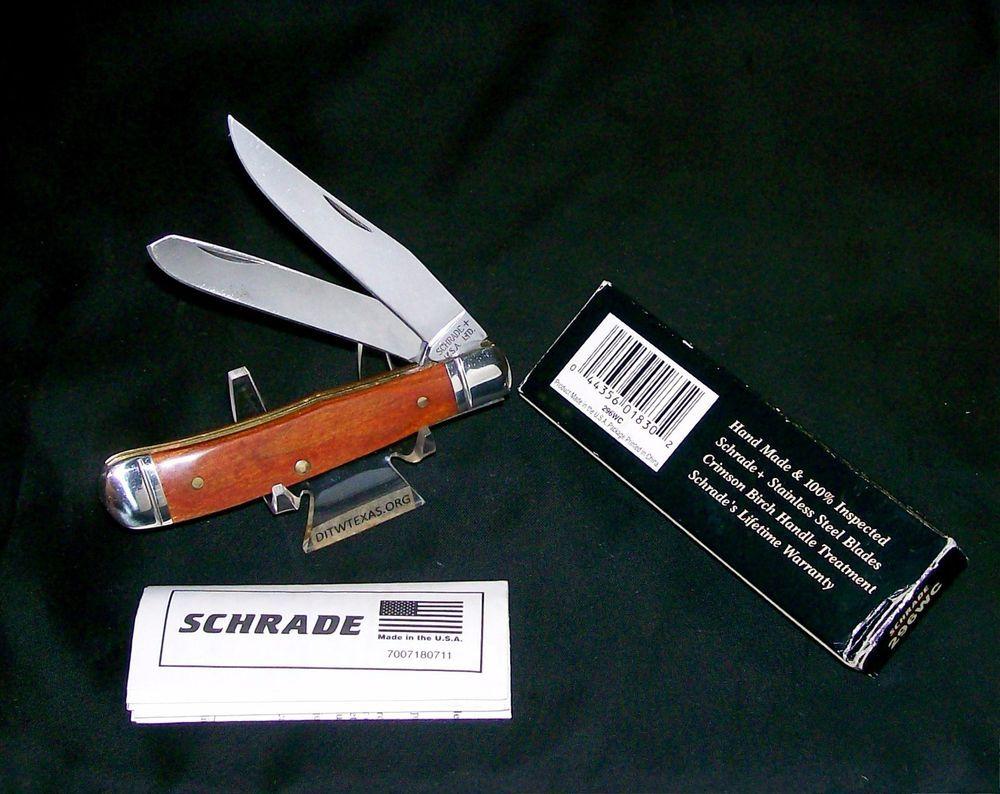 Schrade 296WC Trapper Knife Circa-1990