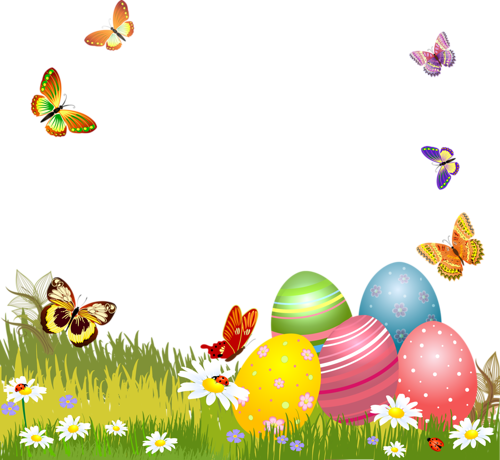 Pin By Swetla Bibova On Pascoa Easter Backgrounds Easter Frame Easter Tags