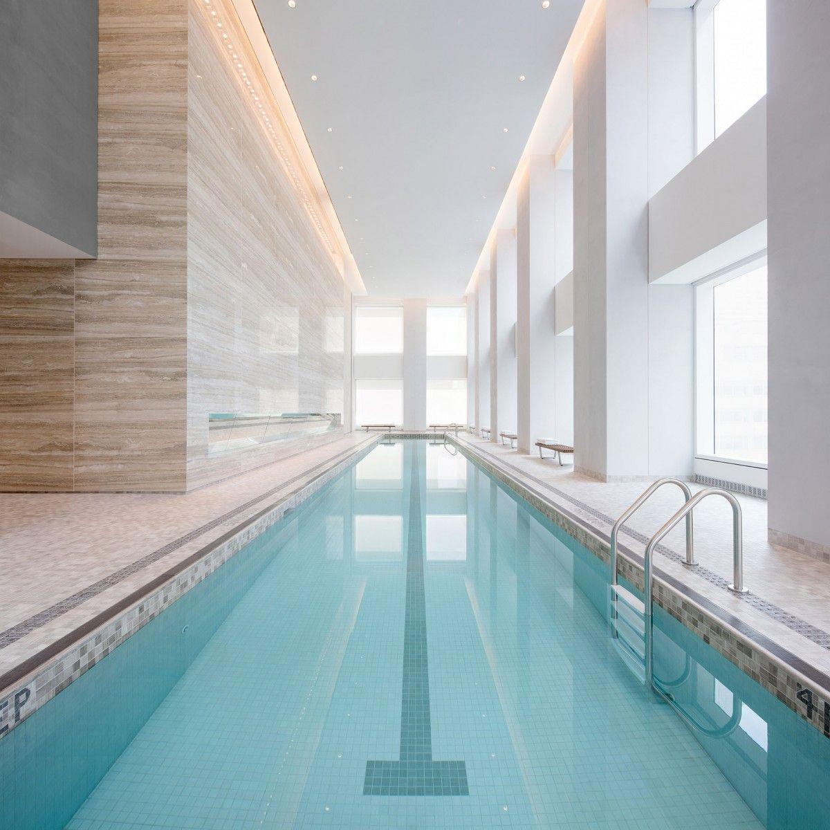 New Images Reveal 432 Park Avenue S Luxury Amenity Spaces 432 Park Avenue Nyc Condo Luxury Pools
