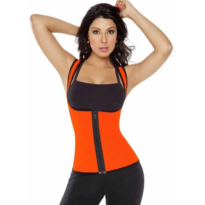 Waist Cincher Shaper Slimmer-Black-3XL HOPLYNN Neoprene Sweat Waist Trainer Corset Trimmer Belt for Women Weight Loss