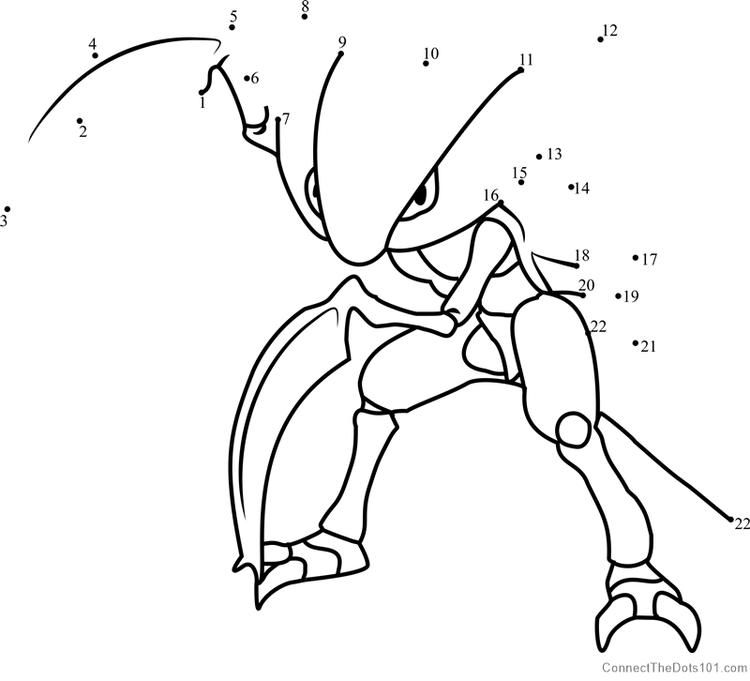 Pokemon Kabutops Dot To Dot En 2020