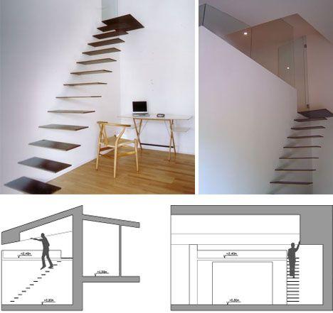 Minimalist Stairs
