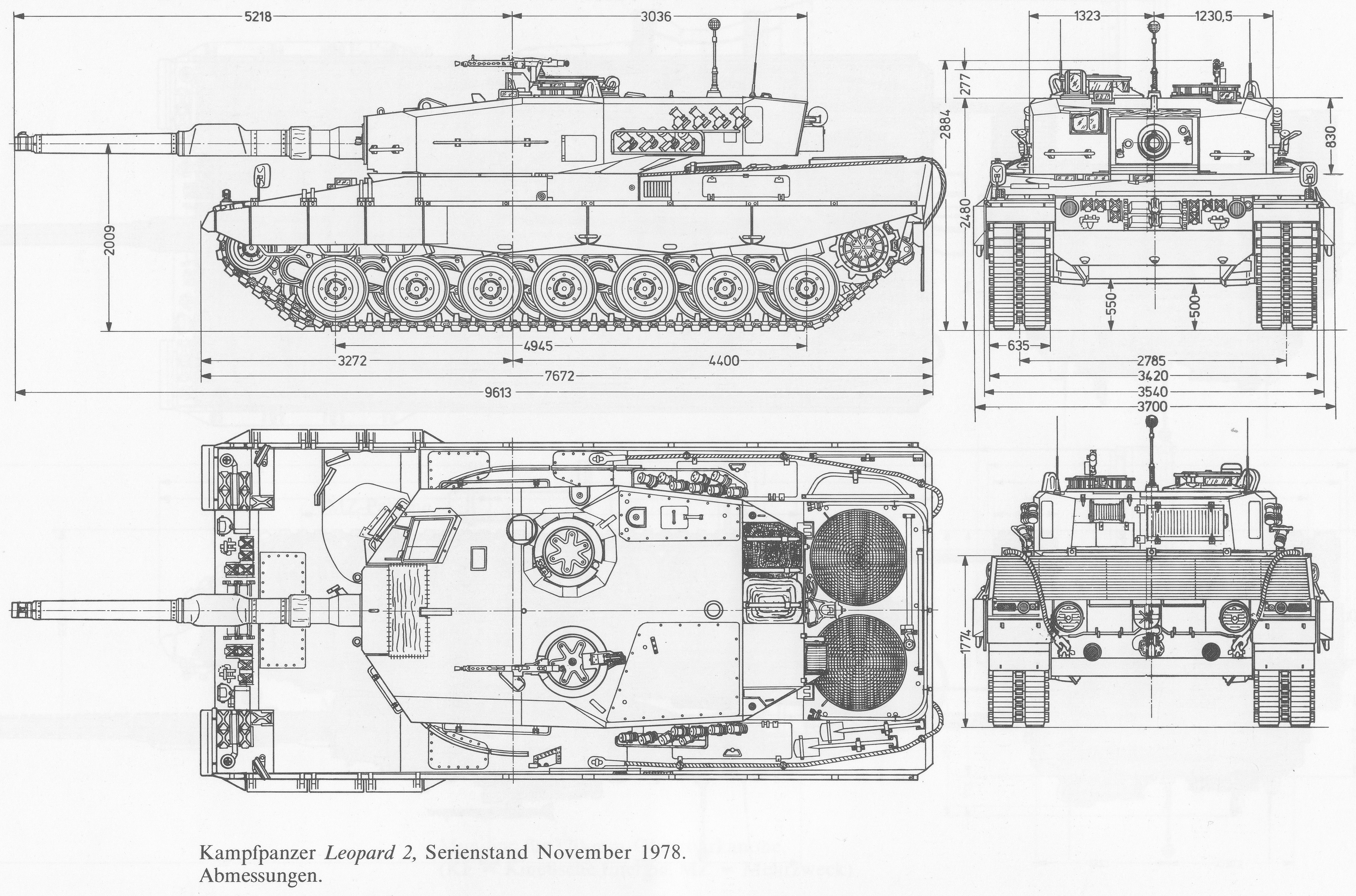 Leopard 2 blueprint 3d tank model work pinterest leopards leopard 2 blueprint malvernweather Choice Image