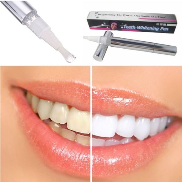 (3) teeth whitening gel pens NIB You receive 3 pens NIB  •100% Brand New & High Quality •Professional strength •Active oxygen bubbles instantly begin to remove stains •Powerful Whitening: brings the power of professional whitening directly to you in a convenient gel pen.  •Fast Results: Within just 1 week you will be able to whiten your teeth    Direction for use: 1.Brush teeth and floss. 2.Twist pen to dispense gel. 3.Apply a thin layer of gel to teeth 4.Relax lips after 30 seconds. 5.Do…