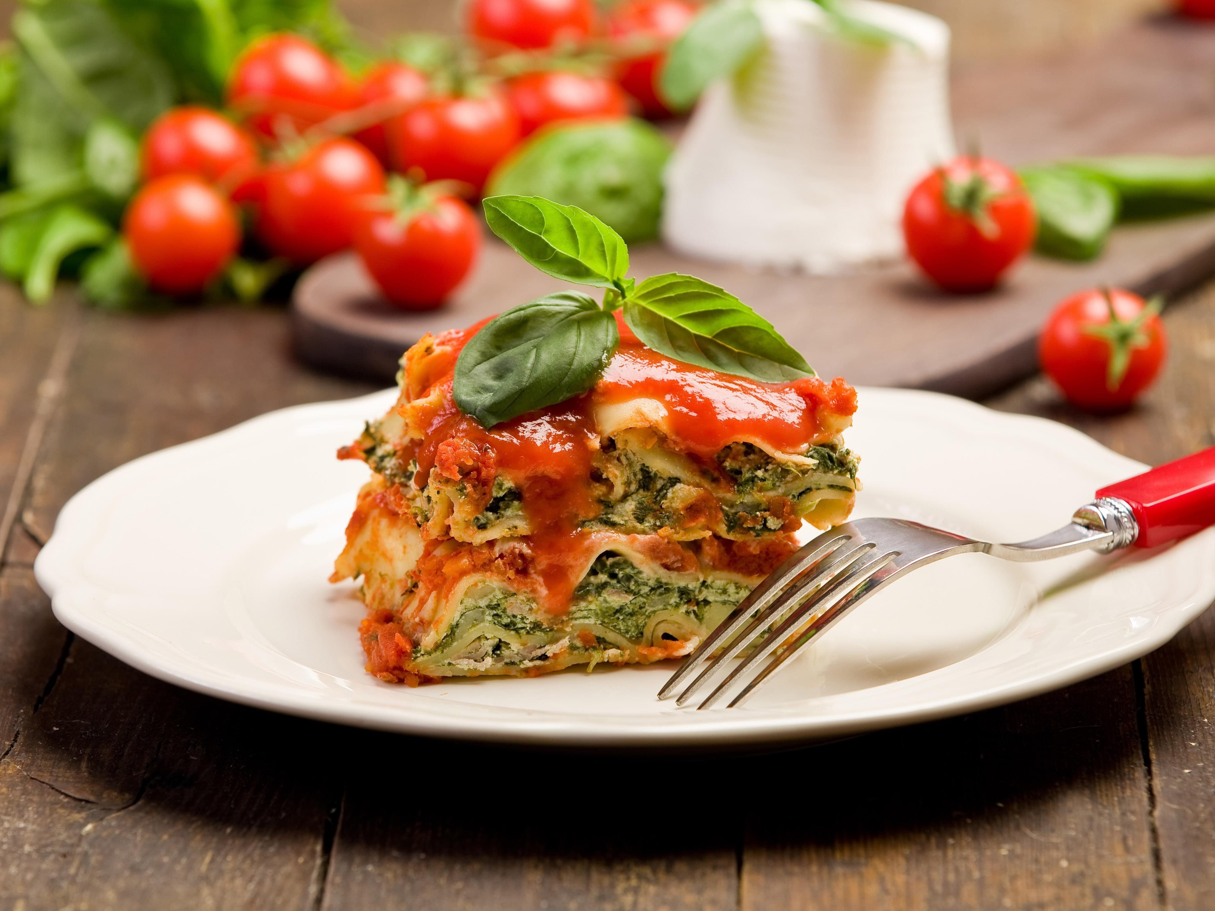 Recette Lasagne végétarienne à la mijoteuse Recipe