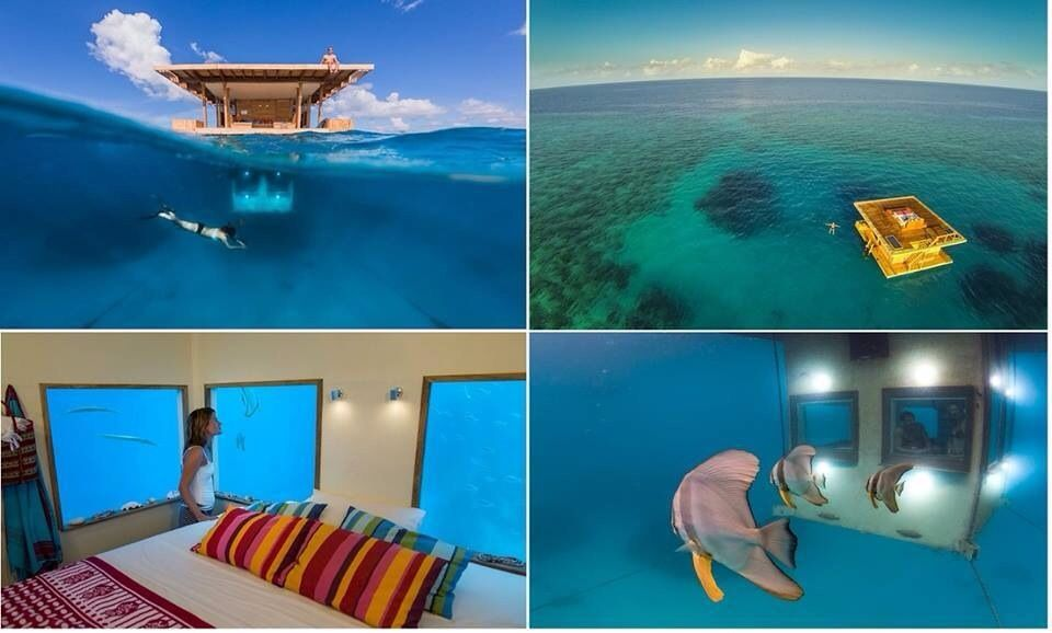 africau0027s multilevel floating hotel with an underwater room underwater hotel africa e74 hotel