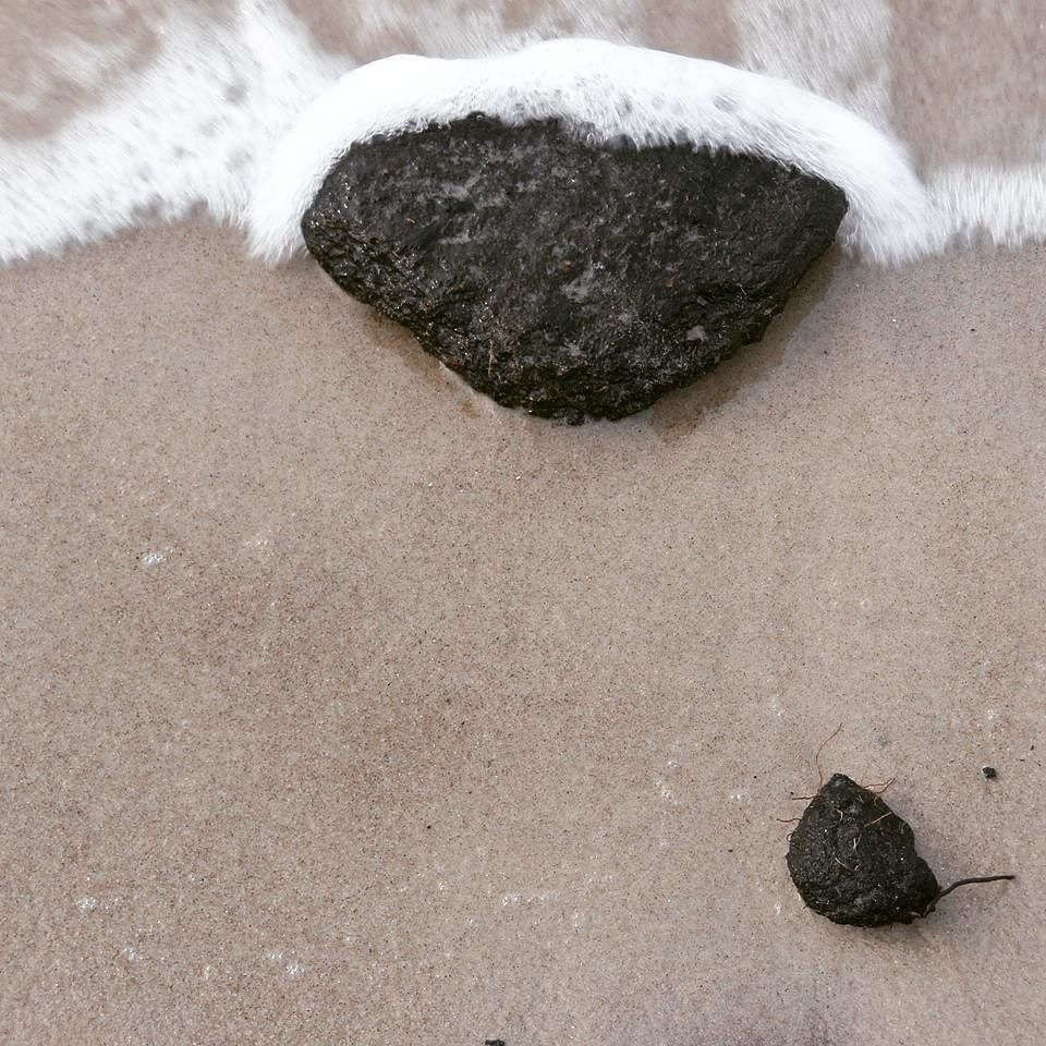 """Wave and Stone"" #serial part 2/3 #beach"