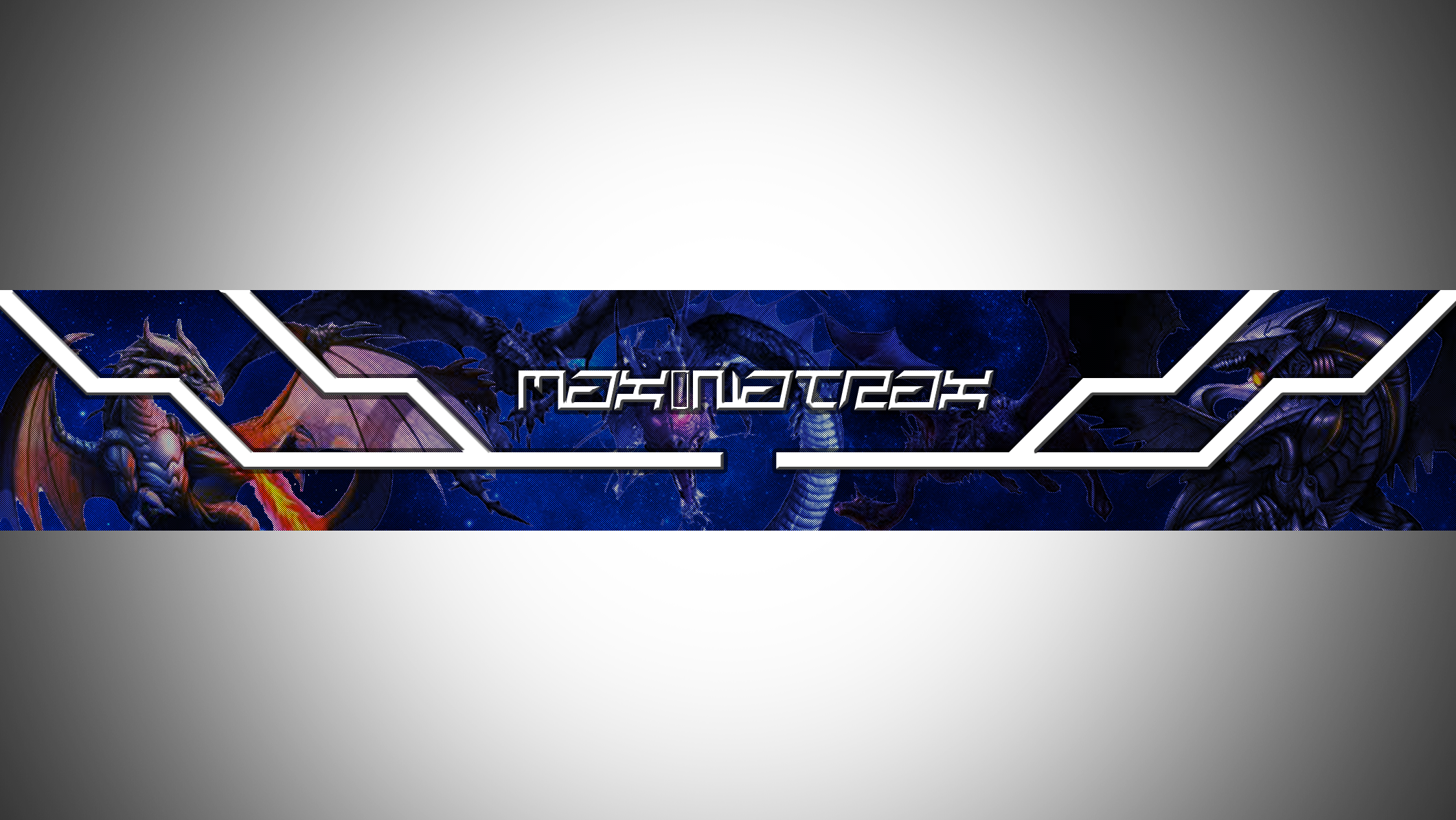 youtube banner for my chanel dragons theme my youtube
