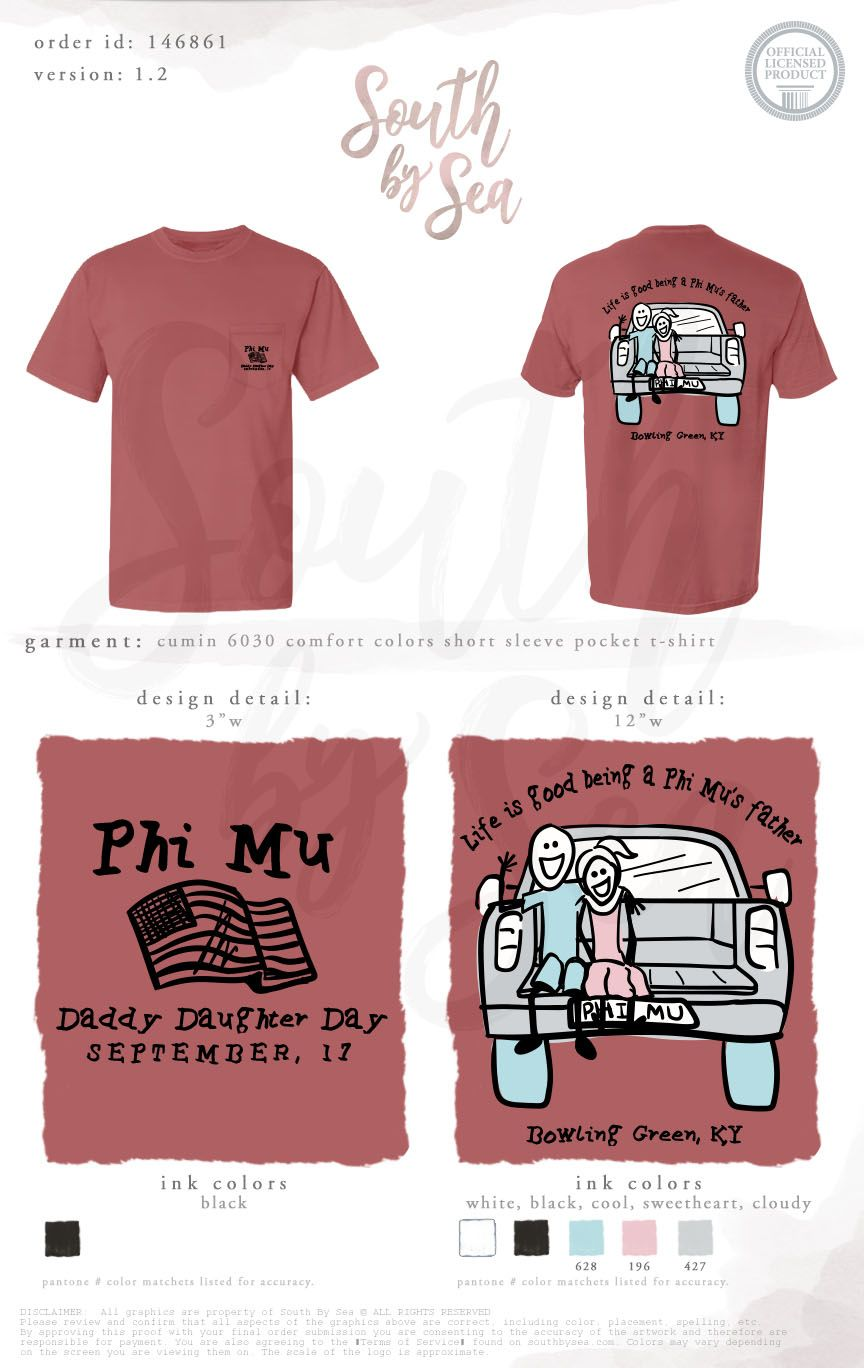 Phi Mu Daddy Daughter Day Dads Weekend Fathers Weekend