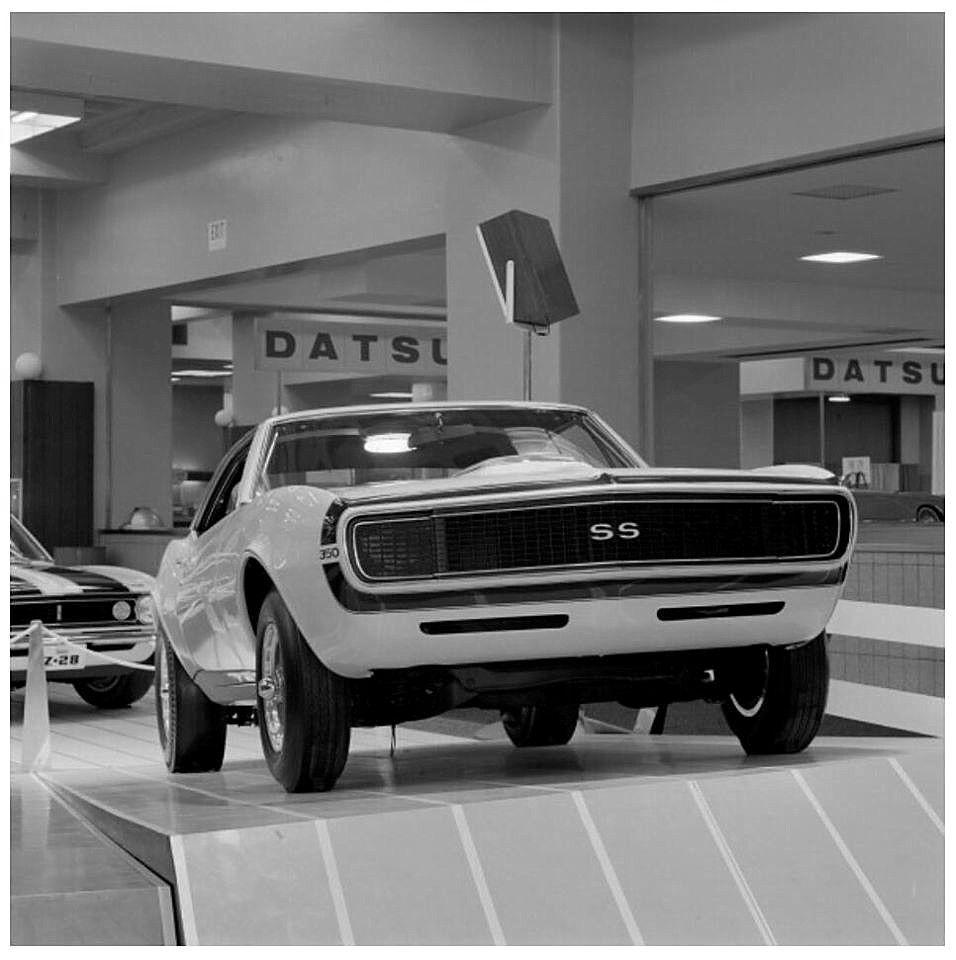 New York International Auto Show 1967 Camaro Ss Show Car
